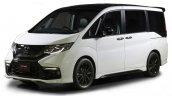 Honda Step WGN Modulo concept front quarter for 2016 TAS