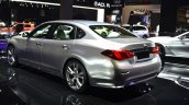 Infiniti Q70 rear three quarters at 2015 Shanghai Auto Show