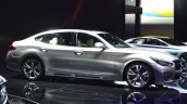 Infiniti Q70 side at 2015 Shanghai Auto Show