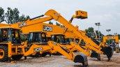 JCB 3DX JS205LR excavators at EXCON 2015