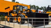 JCB 455ZX wheeled loader at EXCON 2015