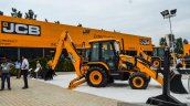 JCB 4DX side at EXCON 2015