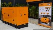 JCB G100QI diesel generator at EXCON 2015
