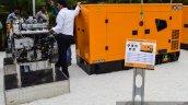 JCB G63QI diesel generator at EXCON 2015