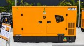 JCB G63QI diesel generator front at EXCON 2015