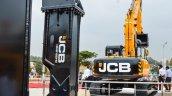 JCB HM2180HD attachment at EXCON 2015