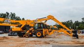 JCB JS205 excavator at EXCON 2015