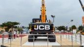 JCB JS205LC exhavator rear at EXCON 2015