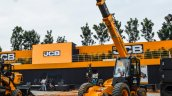 JCB Loadall at EXCON 2015