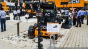 JCB Robot 155 front at EXCON 2015