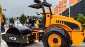 JCB VM115 road roller side at EXCON 2015