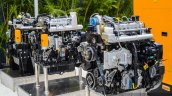 JCB engines at EXCON 2015