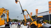 JCB high lift side at EXCON 2015