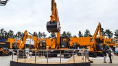 JCB skid steer loaders at EXCON 2015
