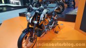 KTM Duke 250 front three quarter at 2015 Thailand Motor Expo