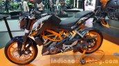 KTM Duke 250 side at 2015 Thailand Motor Expo