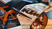 KTM RC250 front fairing at 2015 Thailand Motor Expo
