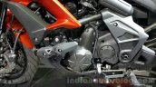 Kawasaki Versys 650 orange engine at 2015 Thailand Motor Expo