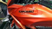 Kawasaki Versys 650 orange fuel tank at 2015 Thailand Motor Expo