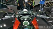 Kawasaki Versys 650 orange handle bar at 2015 Thailand Motor Expo