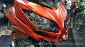 Kawasaki Versys 650 orange head lamps at 2015 Thailand Motor Expo