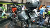 Kawasaki Versys 650 orange rear quarter at 2015 Thailand Motor Expo