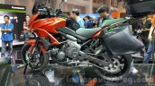 Kawasaki Versys 650 orange side at 2015 Thailand Motor Expo