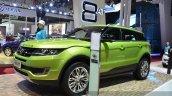 Landwind X7 front three quarters at the 2015 Shaghai Auto Show