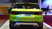 Landwind X7 rear at the 2015 Shaghai Auto Show