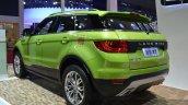 Landwind X7 rear three quarters at the 2015 Shaghai Auto Show