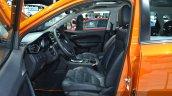 MG GS interior at 2015 Shanghai Auto Show