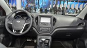 MG GT dashboard at 2015 Shanghai Auto Show