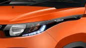 Mahindra KUV100 headlight official