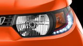 Mahindra KUV100 headlight with DRL