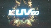 Mahindra KUV100 nameplate official
