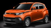 Mahindra KUV100 three quarters
