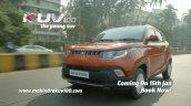 Mahindra KUV100 website teaser