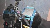 Mahindra Mojo ABS version testing equipment provision spied