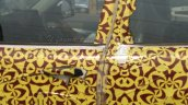 Mahindra S101 (XUV100) spyshot front door handle