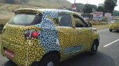 Mahindra S101 (XUV100) spyshot rear quarter right