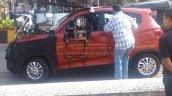 Mahindra XUV100 Mahindra S101 side undisguised