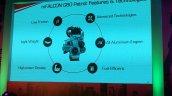 Mahindra mFalcon for KUV100 petrol engine details unveiled