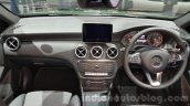 Mercedes A Class facelift dashboard at the 2015 Thailand Motor Expo