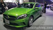 Mercedes A Class facelift front quarter at the 2015 Thailand Motor Expo