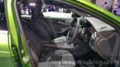 Mercedes A Class facelift front seats at the 2015 Thailand Motor Expo