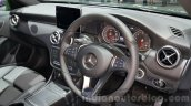 Mercedes A Class facelift interior at the 2015 Thailand Motor Expo