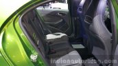 Mercedes A Class facelift rear seats at the 2015 Thailand Motor Expo