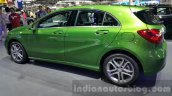 Mercedes A Class facelift side at the 2015 Thailand Motor Expo