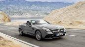 Mercedes-Benz-SLC-front-three-quarters-left