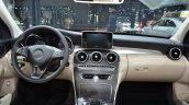 Mercedes C200 L 4Matic Sport dashboard at 2015 Shanghai Auto Show